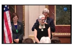 Florrie Burke's Presidential Award for Extraordinary Efforts to Combat Trafficking in Persons